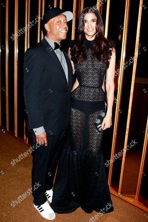 Russell Simmons and Teresa Lourenco