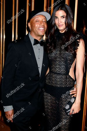 Stock Photo of Russell Simmons and Teresa Lourenco