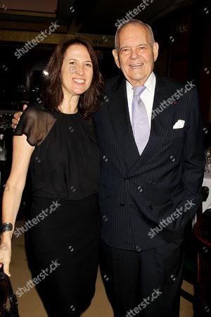 Margaret Bodde and Robert Silvers