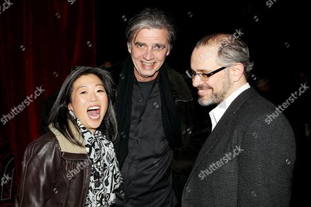 Stock Photo of Mimi Park, Tom Vincent and Dean Abatemarco