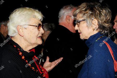 Stock Image of Maggie Berkvist and Nancy Jo Johnson