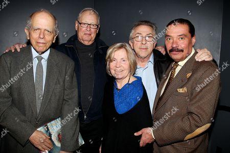 Stock Photo of John Loengard, Co Rentmeester, Bobbi Baker Burrows, John Olson a