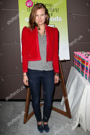 Editorial image of 'The Drop 10 Diet' book promotion, New York, America - 28 Mar 2012