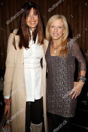Carol Alt and Lucy Danziger