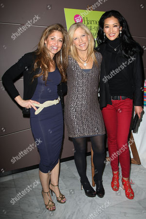 Dylan Lauren, Lucy Danziger and Kelly Choi