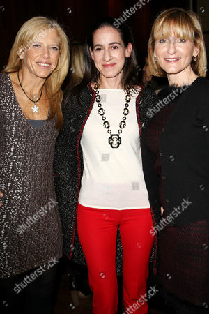 Lucy Danziger, Jane Lauder and Laura McEwen