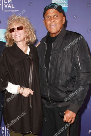Pamela Frank and Harry Belafonte