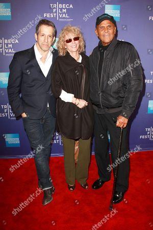 Kenneth Cole, Pamela Frank and Harry Belafonte