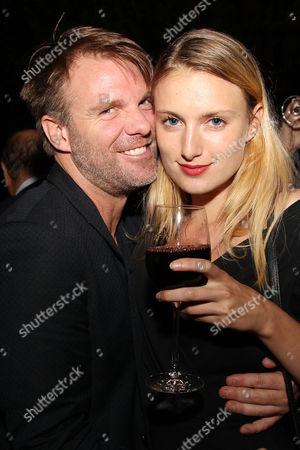 Ben Latham-Jones and Lilly Englert