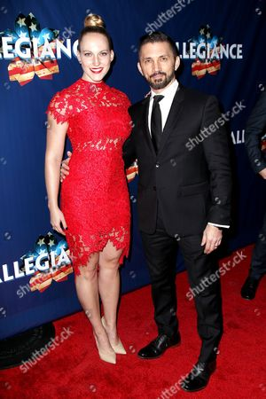Editorial picture of 'Allegiance' musical opening night, New York, America - 08 Nov 2015