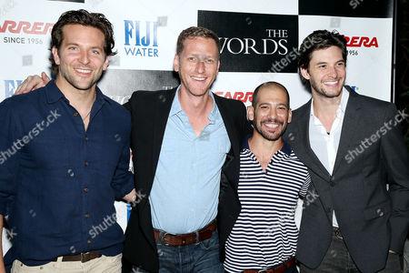 Bradley Cooper, Brian Klugman, Lee Sternthal and Ben Barnes