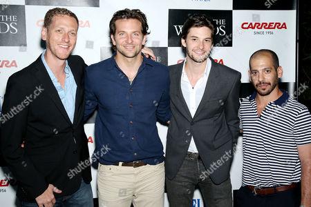 Brian Klugman, Bradley Cooper, Ben Barnes and Lee Sternthal