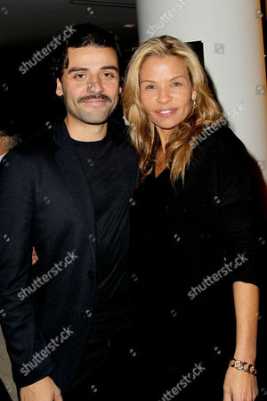 Oscar Isaac and Jenny Lumet