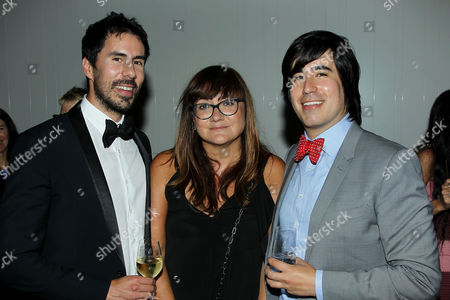Gabriel Hammond (CEO Broad Green Pictures), Isabel Coixet (Director), Daniel Hammond (CCO Broad Green Pictures)