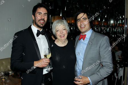Gabriel Hammond (CEO Broad Green Pictures), Thelma Schoonmaker, Daniel Hammond (CCO Broad Green Pictures)