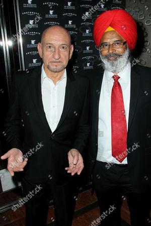 Stock Image of Sir Ben Kingsley, Harpreet Singh Toor