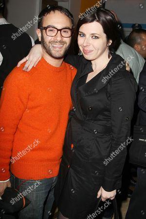John Krokidas and Heather Matarazzo