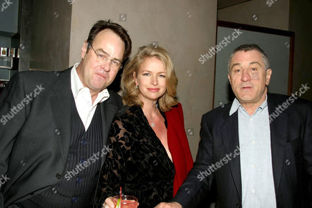 Dan Aykroyd with wife Donna Dixon and Robert De Niro