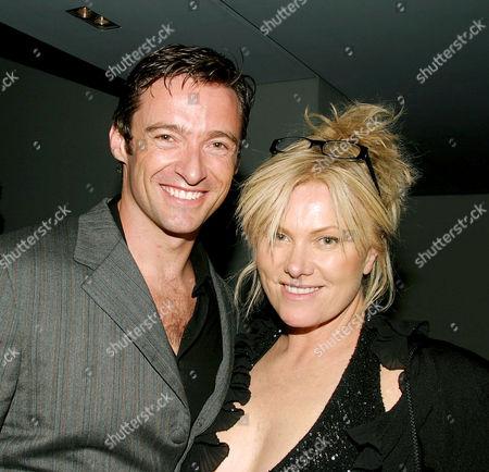 Hugh Jackman with wife Deborra Lee Furness