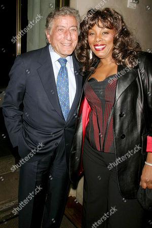 Tony Bennett with Donna Summer