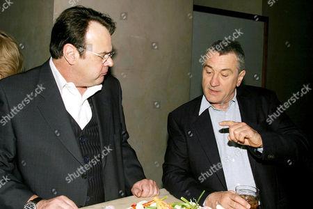 Dan Aykroyd with Robert De Niro
