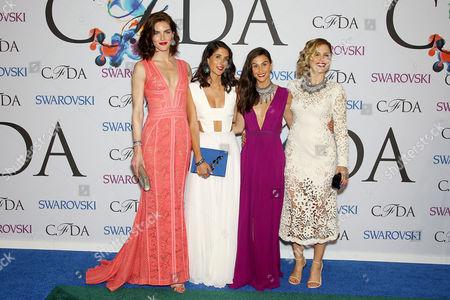 Hilary Rhoda, Jodie Snyder, Danielle Snyder and Sophia Bush