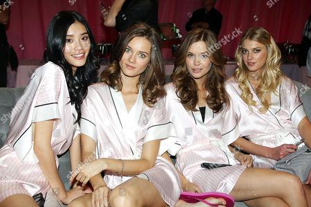 Editorial photo of Victoria's Secret Fashion Show, Backstage, New York, America - 13 Nov 2013