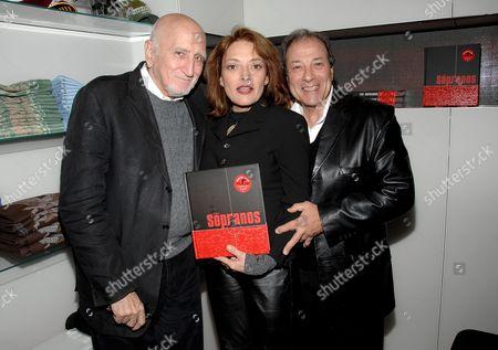 Dominic Chianese, Sharon Angela and Dan Grimaldi