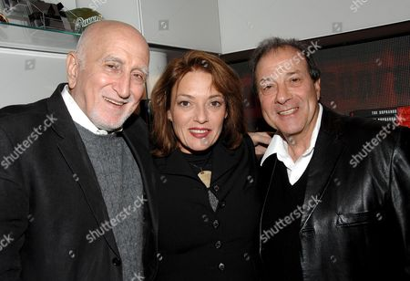 Dominic Chianese, Sharon Angela and Dan Grimaldi