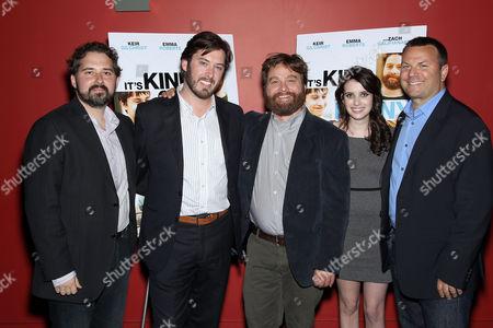 Stock Photo of Jeremy Kipp Walker, Mr Hudson Browning, Zach Galifianakis, Emma Roberts, Kevin Misher