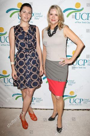Jill Flint and Patricia Duff