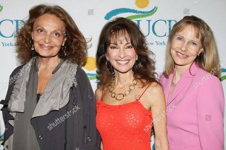 Diane von Furstenberg, Susan Lucci and Donna Hanover