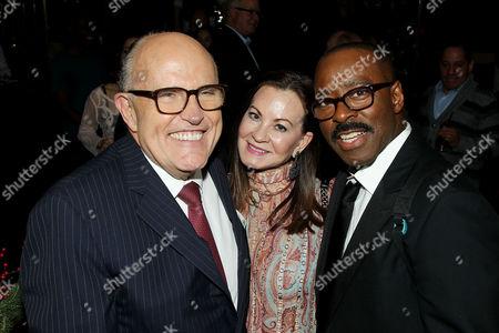Rudy Giuliani, Judith Nathan Giuliani, Courtney B Vance