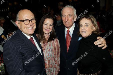 Rudy Giuliani, Judith Nathan Giuliani, Gay Talese, Nan A. Talese