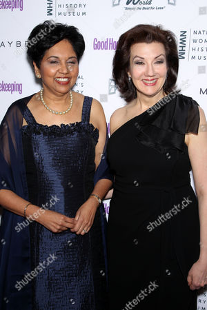 Indra Nooyi, Rosemary Ellis (Editor-In-Chief God Housekeeping)