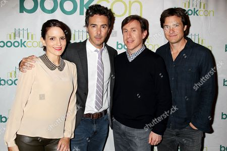 Tina Fey, Shawn Levy, Jonathan Tropper and Jason Bateman