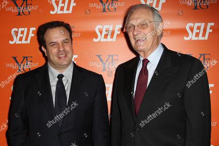 Rod Lurie and Alan Alda
