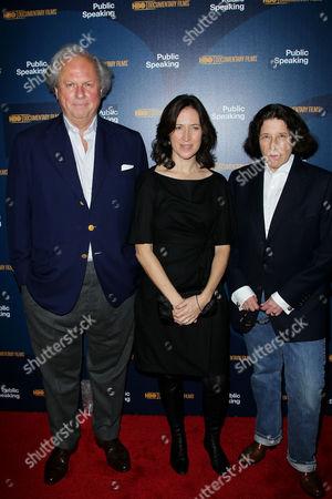 Graydon Carter, Margaret Bodde (Producer), Fran Lebowitz