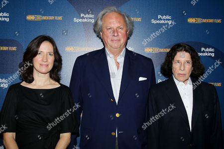 Margaret Bodde (Producer), Graydon Carter, Fran Lebowitz