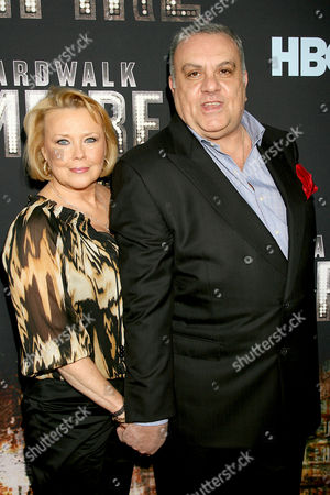 Vincent Curatola with wife