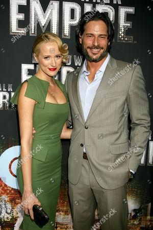 Joe Manganiello with girlfriend Audra Marie