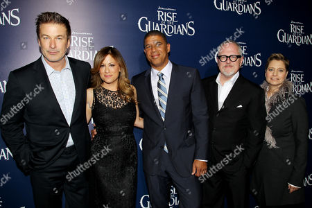 Editorial image of 'Rise of the Guardians' film premiere, New York, America - 11 Nov 2012