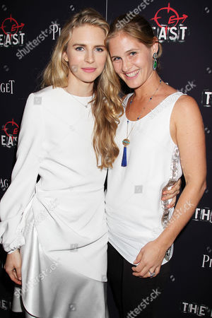 Brit Marling and Jane Bloomingdale