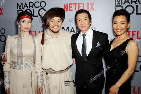 Amarsaikhan Baljinnyam and wife, Chin Han, Joan Chen
