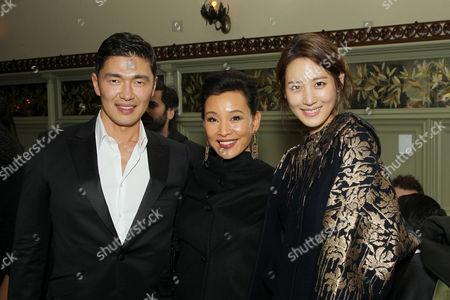 Rick Yune, Joan Chen and Claudia Kim