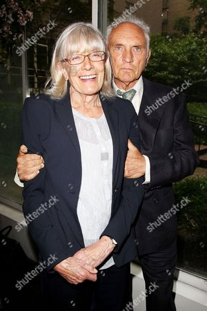 Vanessa Redgrave and Terence Stamp