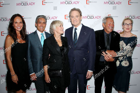 Clo and Charles Cohen, Glenn Close, Kevin Kline, Israel Horovitz (Director), Meryl Streep