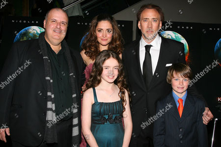 Alex Proyas, Rose Byrne, Lara Robinson, Nicolas Cage and Chandler Canterbury
