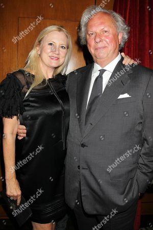 Laura Bickford and Graydon Carter