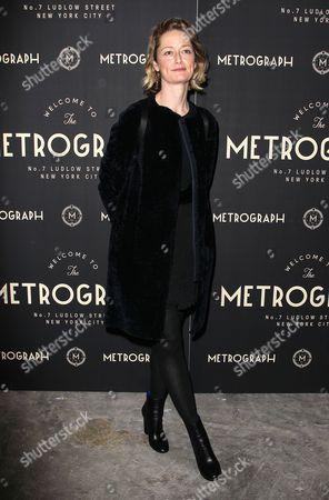 Editorial photo of Metrograph Opening Night, New York, America - 02 Mar 2016